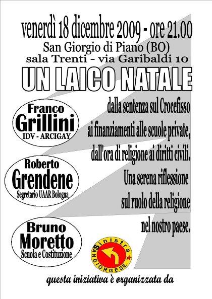 Un laico natale - San Giorgio di Piano