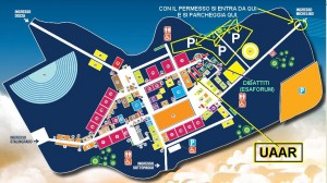 Mappa FestaUnita' 2010