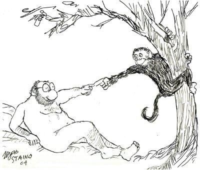 Darwin Day, Sergio Staino