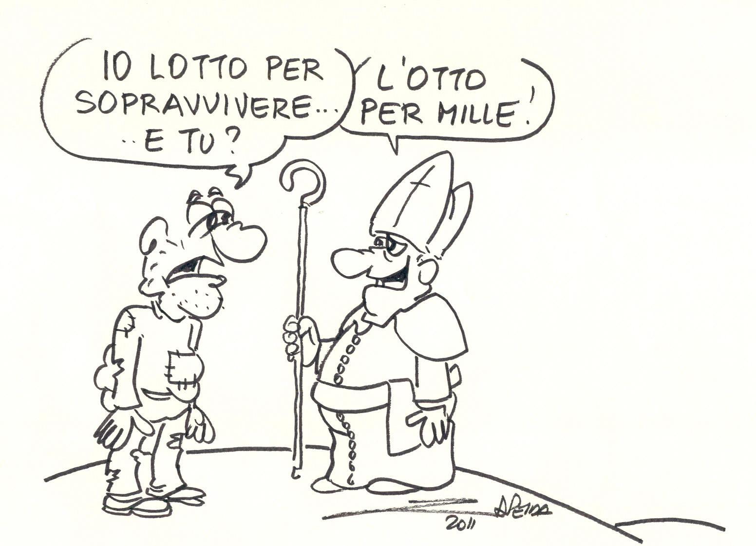 Vignetta del disegnatore Zap