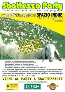 Sbattezzo Party, 17 maggio 2013
