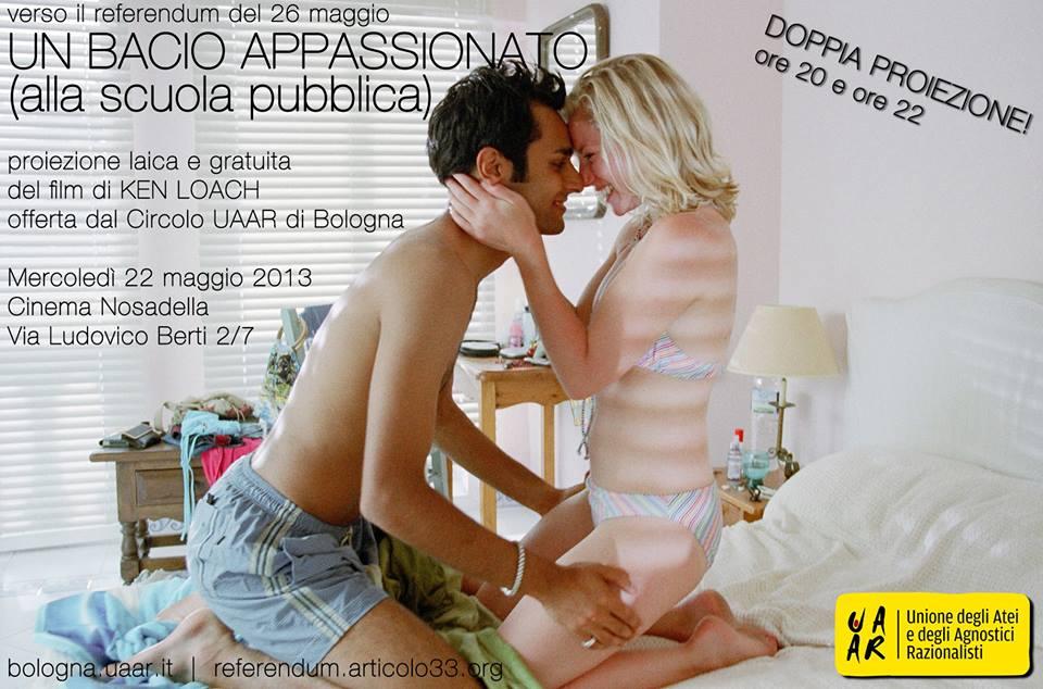 Invito per Un bacio appassionato (alla scuola pubblica)