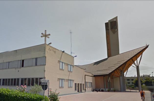 Chiesa Corpus Domini, costruita con finanziamento comunale (fonte Googlemaps)
