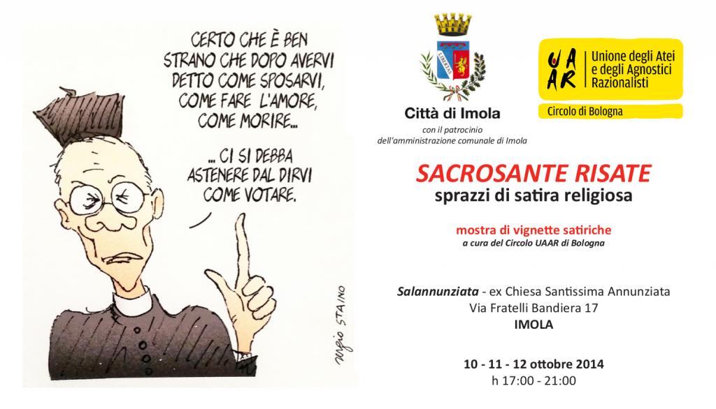 sacrosante risata, Imola 10,11,12 ottobre 2014
