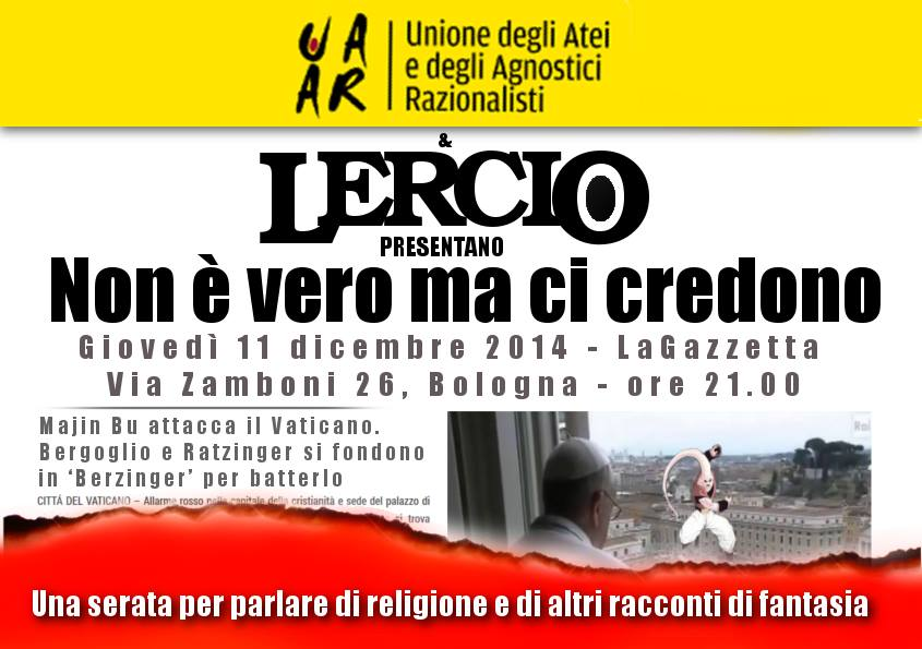 Serata con Lercio, 11 dicembre 2014