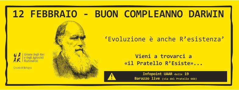 Buon compleanno Darwin - Evoluzione è anche R'esistenza