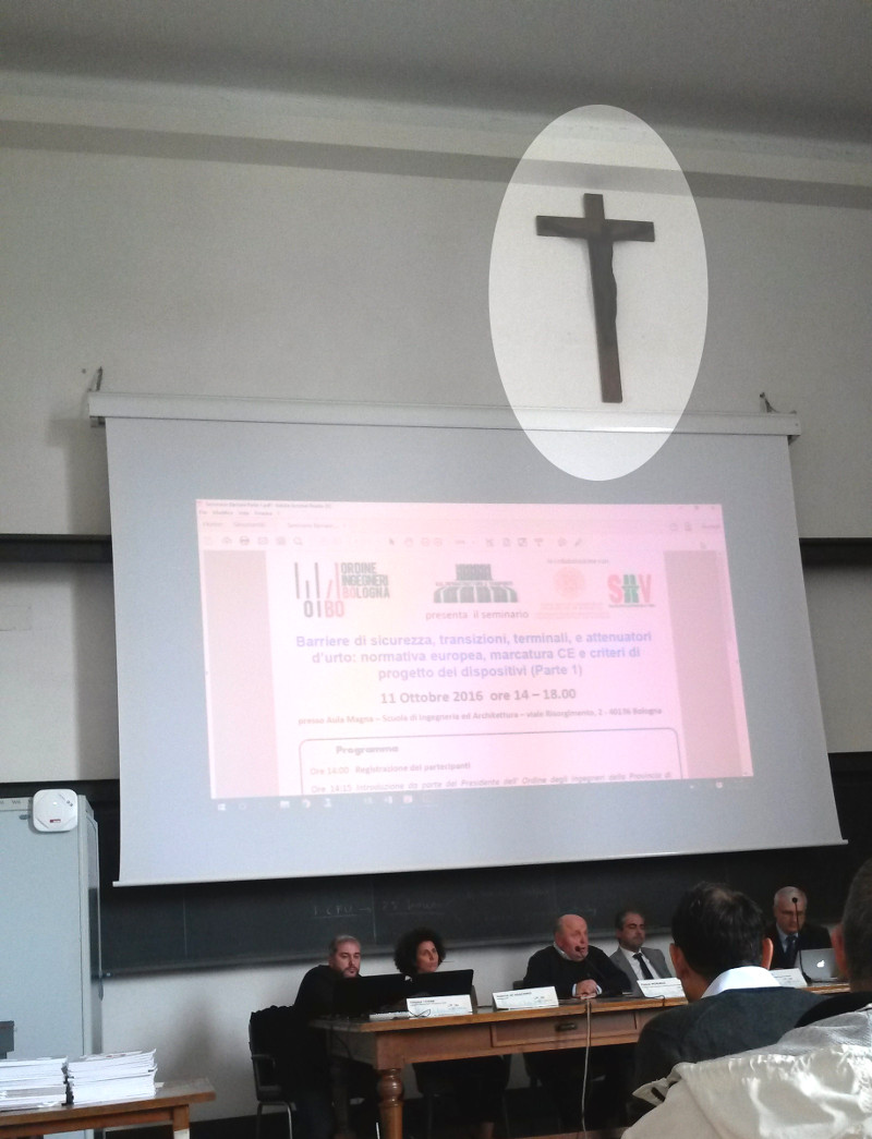 Aula magna E.Mattei, Ingegneria, UniBO