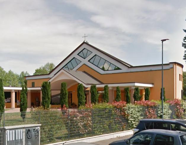 Chiesa SS Monica e Agostino, costruita con fondi comunali (fonte Googlemaps)