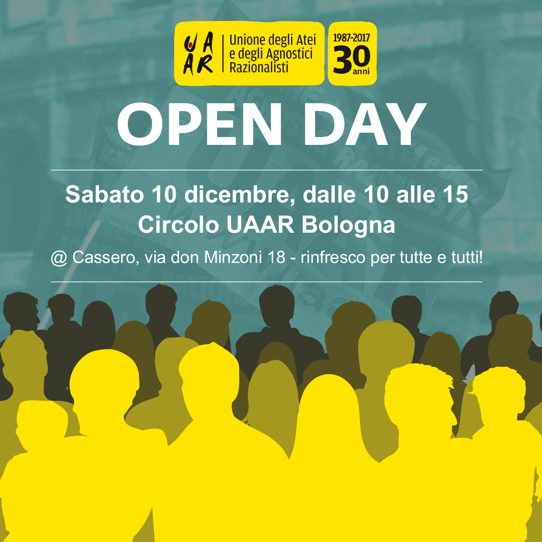 Open Day 10 dic 2016