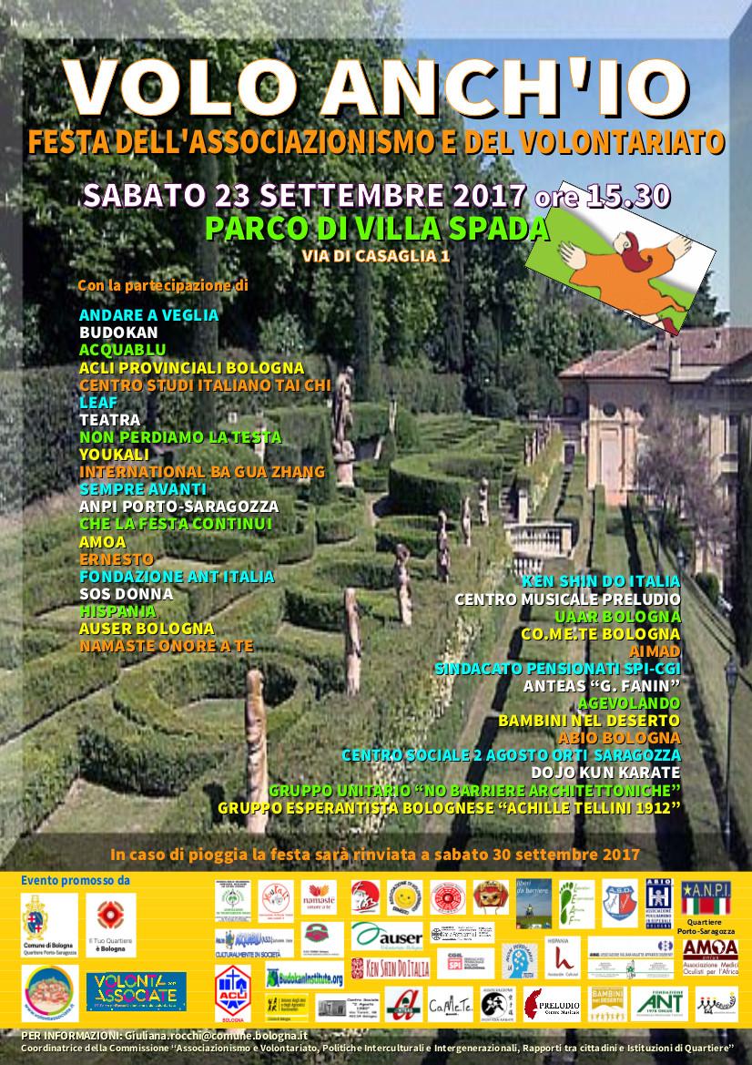 Volo anch'io - Festa Villa Spada 2017