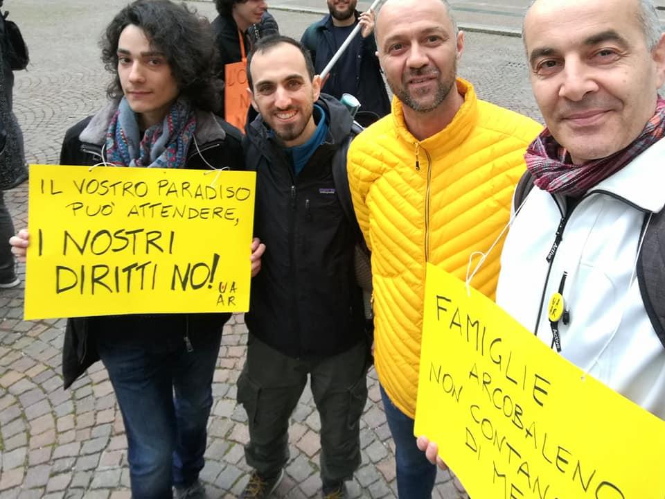 Presidio Regione Emilia Romagna 11 aprile 2019