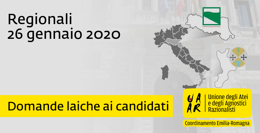 Regionali 2020: risposte alle domande laiche