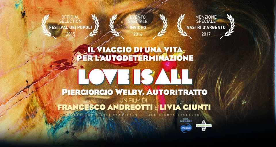"Locandina ""Love is all"""