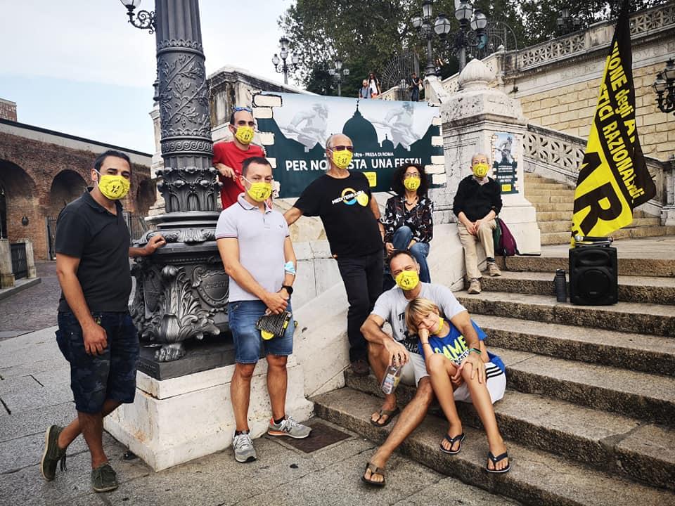 Attivisti del Circolo Uaar di Bologna - 20 settembre 2020
