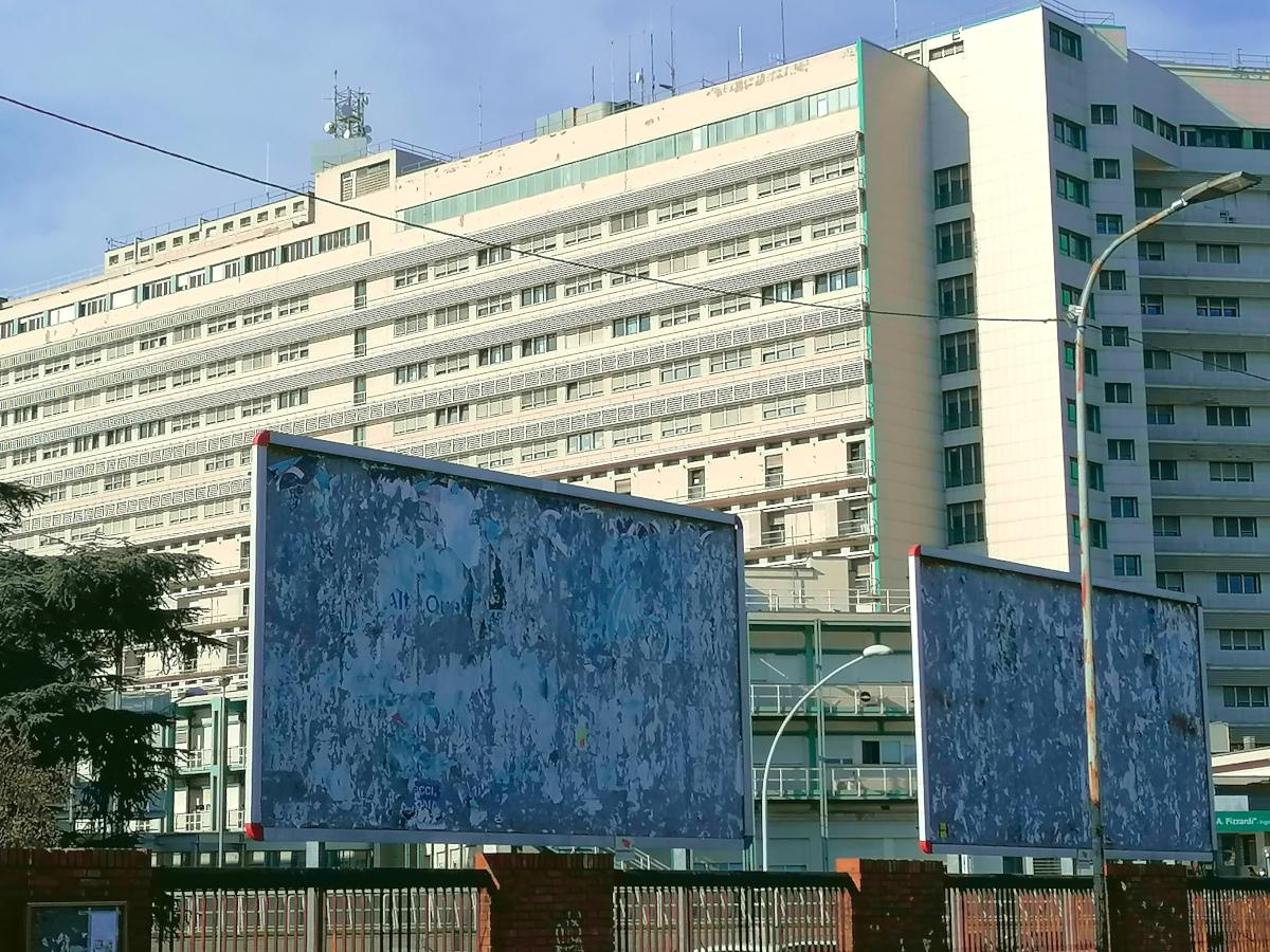 Spazi inutilizzati, ospedale Maggiore, Bologna